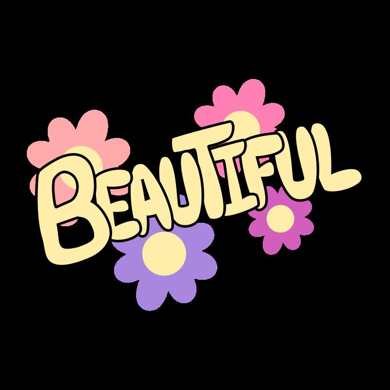 free vector Beautiful
