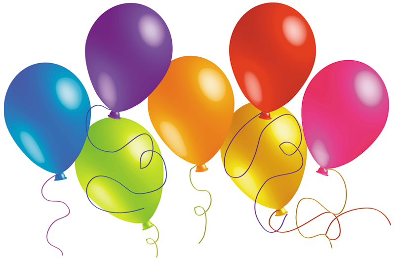 free vector Beautifully colored balloons 01 vector