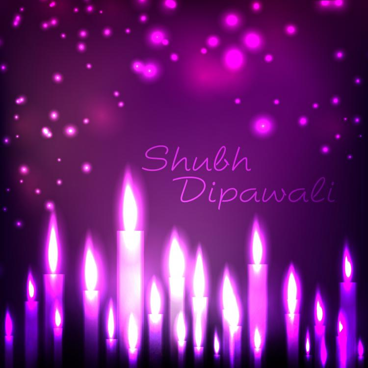 free vector Beautifully diwali background 10 vector