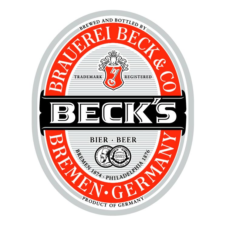 free vector Becks 2