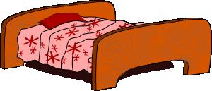 free vector Bed clip art