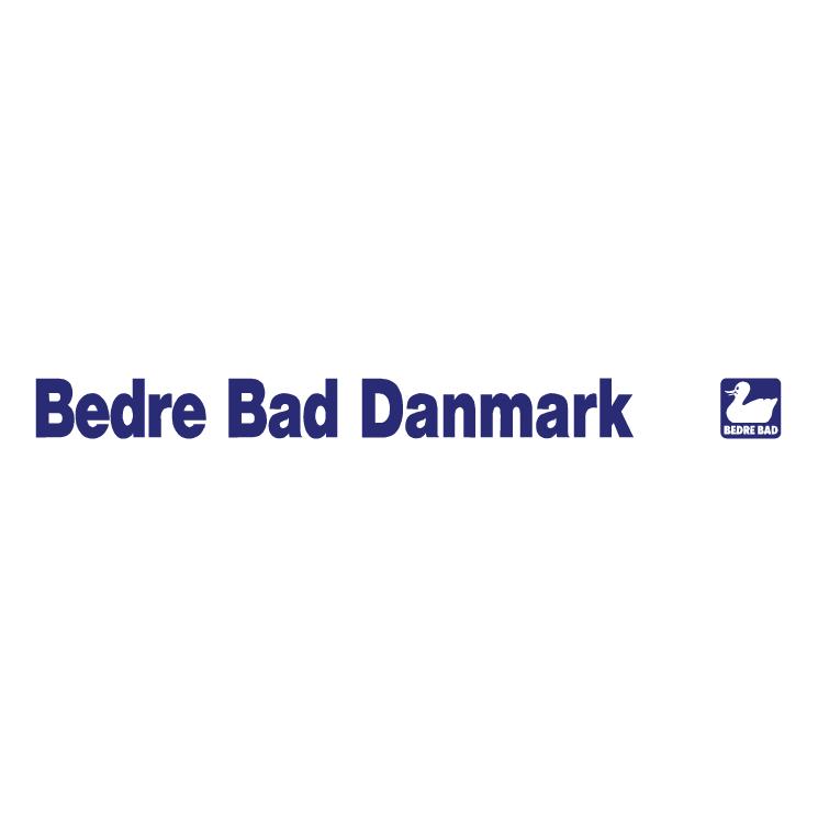free vector Bedre bad danmark