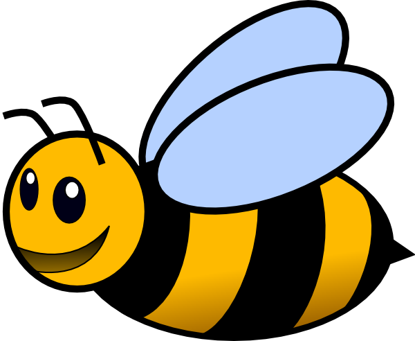 bee clip art free vector 4vector rh 4vector com busy bee clip art free free bumble bee clipart