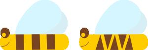 free vector Bee clip art