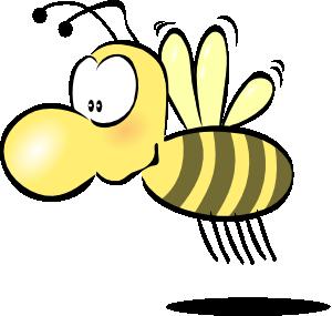 free vector Bee2 clip art