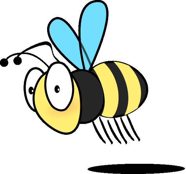 free vector Bee3 clip art