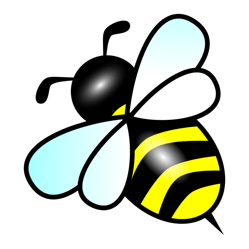 bee free vector 4vector rh 4vector com bee vector graphic bee vector art