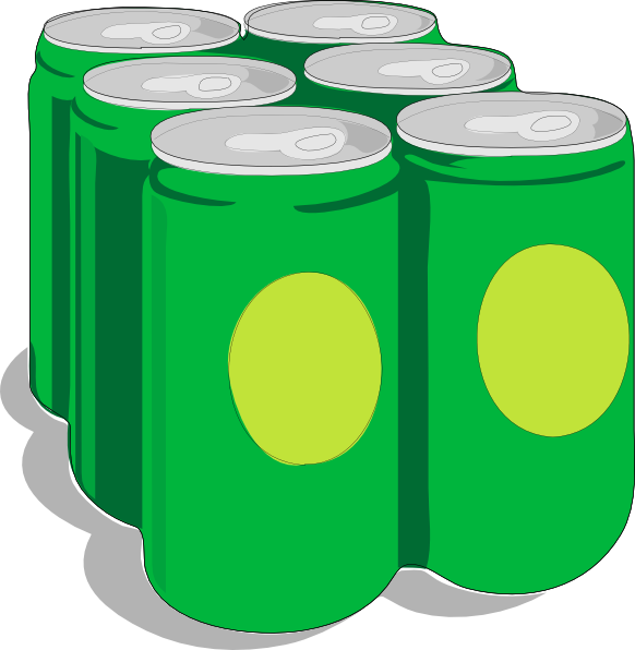 free vector Beer Cans clip art