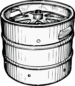 free vector Beer Keg clip art