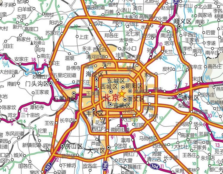 Beijing map ai cdr Free Vector 4Vector