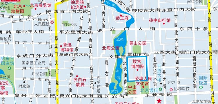 free vector Beijing map ai cdr