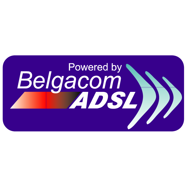 free vector Belgacom adsl
