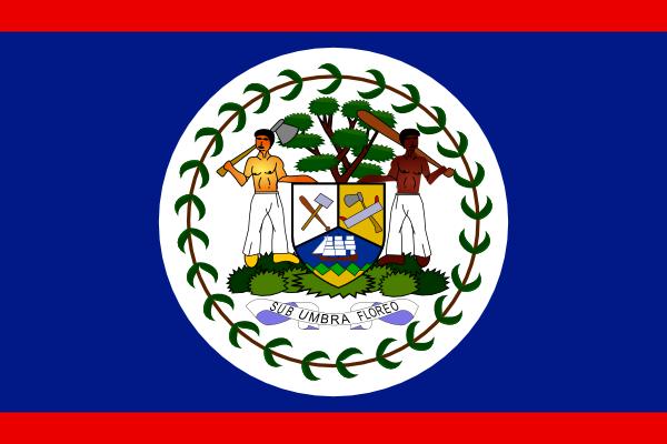 free vector Belize clip art