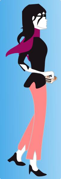 free vector Ben Parisian S Girl clip art