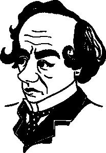 free vector Benjamin Disraeli clip art