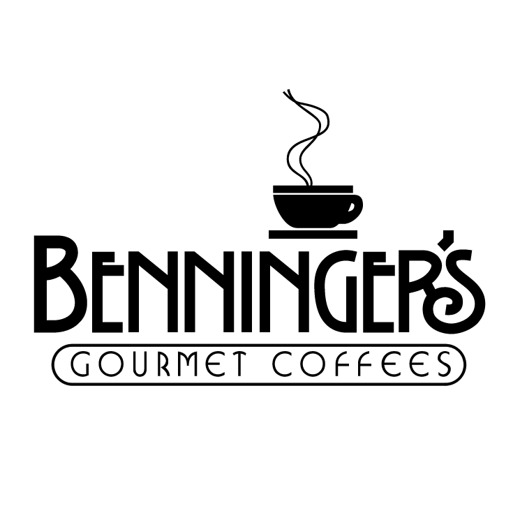 free vector Benningers gourmet coffees