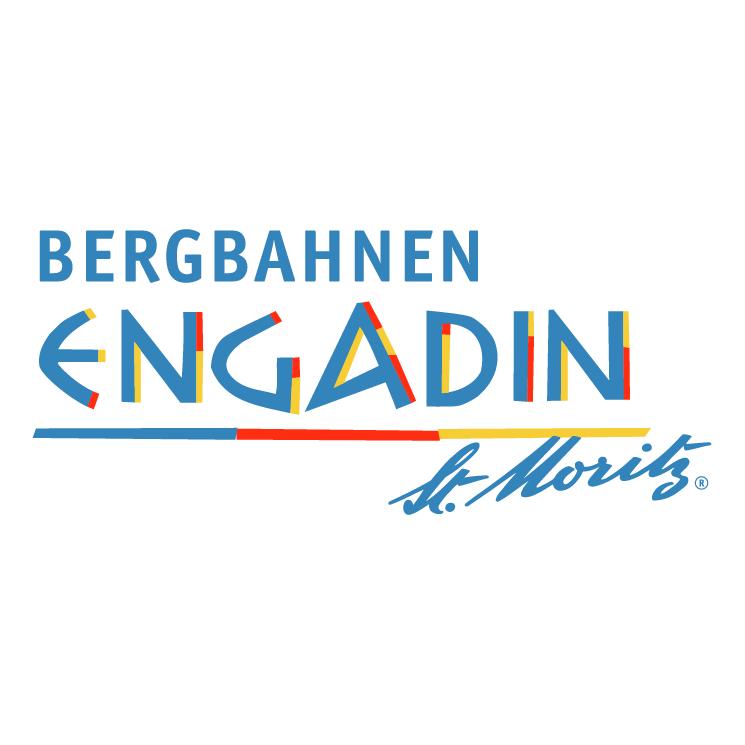 free vector Bergbahnen engadin st moritz