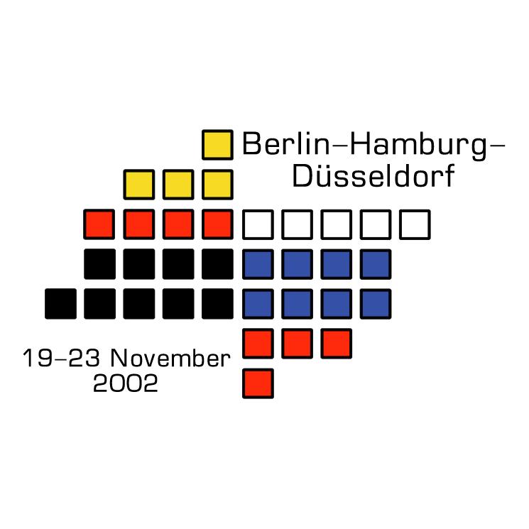 free vector Berlin hamburg dusseldorf expo
