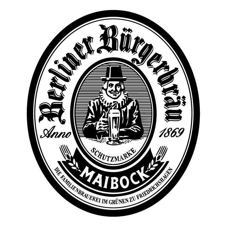 free vector Berliner burgerbrau 0