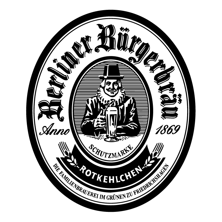 free vector Berliner burgerbrau