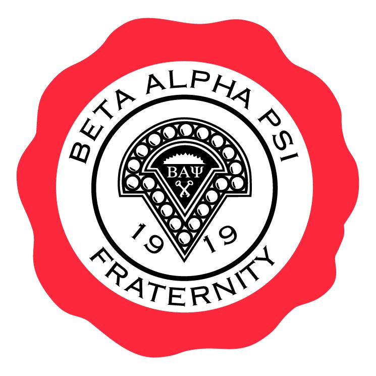 free vector Beta alpha psi fraternity