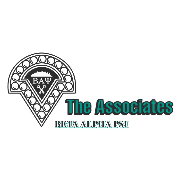 free vector Beta alpha psi the associates