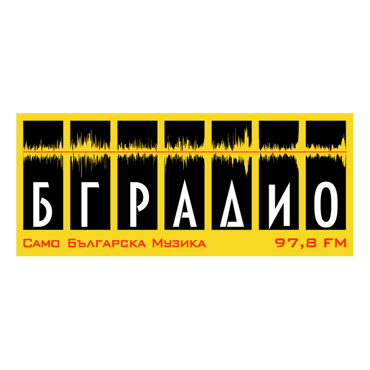 free vector Bg radio
