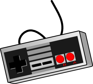 free vector Bhspitmonkey Old School Game Controller clip art