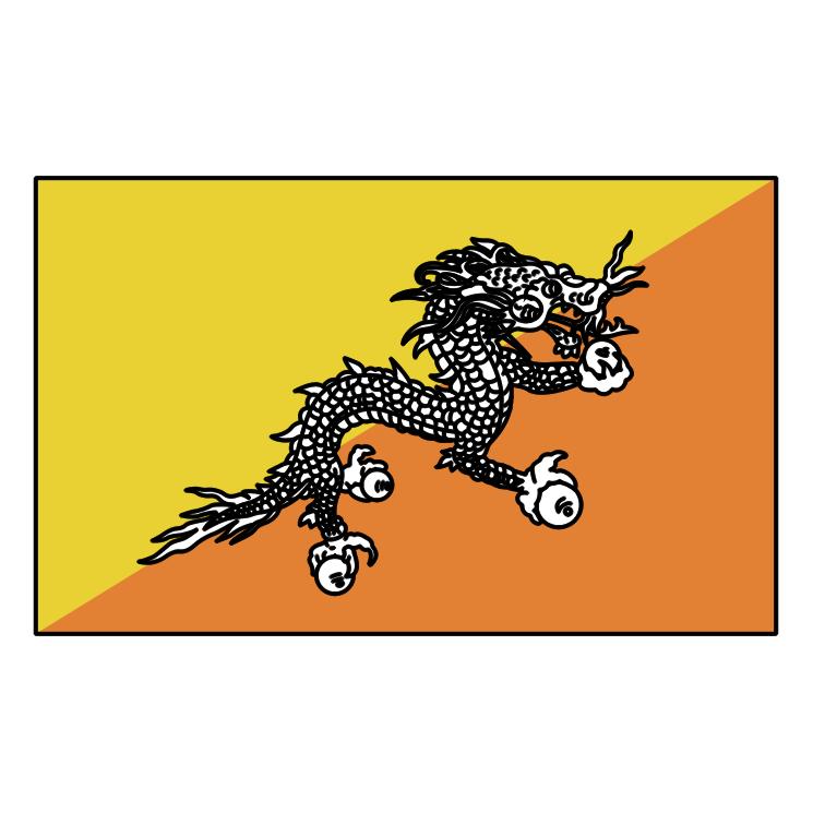 free vector Bhutan 0