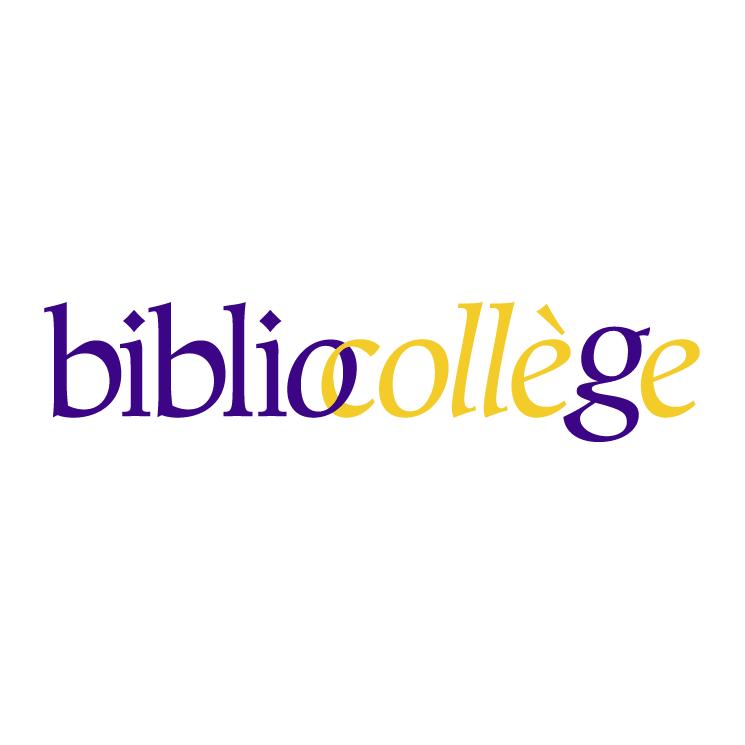 free vector Bibliocollege