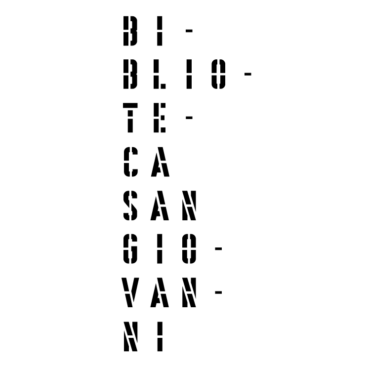 free vector Biblioteca san giovanni 0