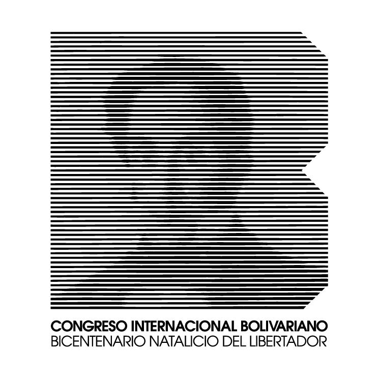 free vector Bicentenario natalicio del libertador 1983 sociedad bolivariana de venezuela