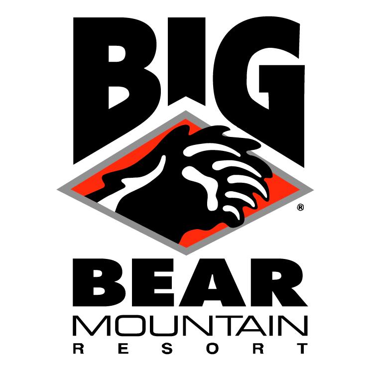 free vector Big bear mountain