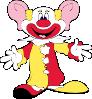 free vector Big Earred Clown clip art