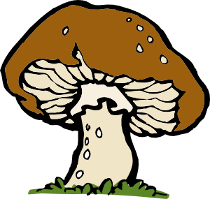 free vector Big Mushroom clip art