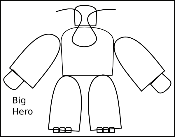 free vector Big Transformer Hero clip art