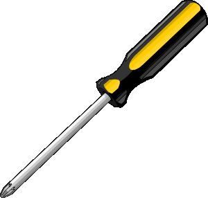 free vector Bigredsmile A Screwdriver clip art