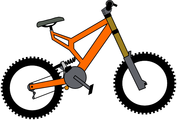 Bike Images Clip Art Bike clip art is free Vector