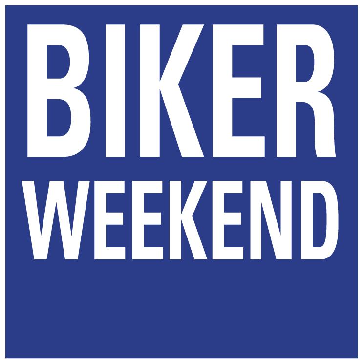 free vector Biker weekend