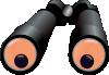 free vector Binoculars Jh clip art