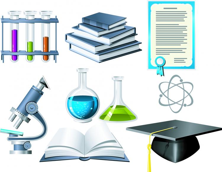 free vector Biochemistry theme icon vector