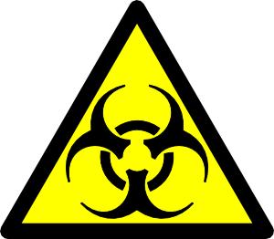 free vector Biohazard Road Symbol clip art