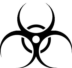 free vector Biohazard Symbol clip art