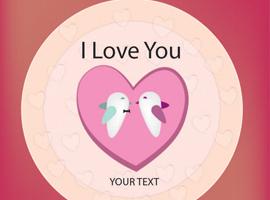 free vector Birds in Love