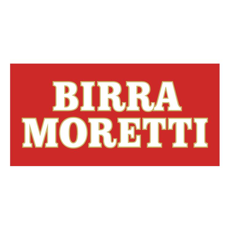 free vector Birra moretti