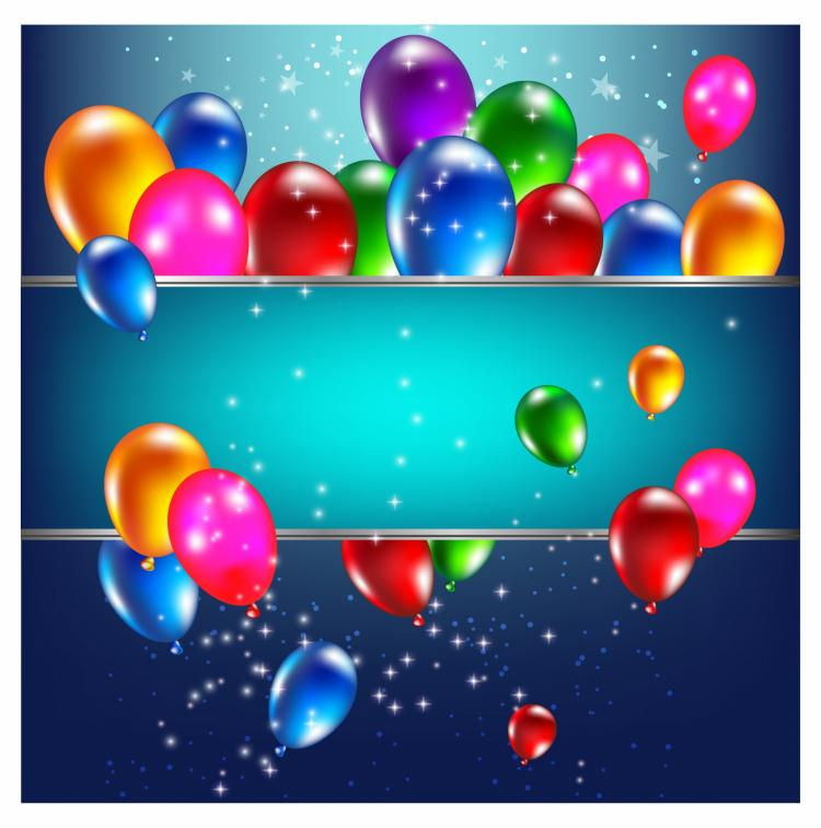 free vector Birthday background