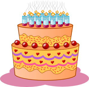 Birthday Cake Clip Art 112666 Free Svg Download 4 Vector