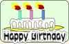 free vector Birthday Cake clip art
