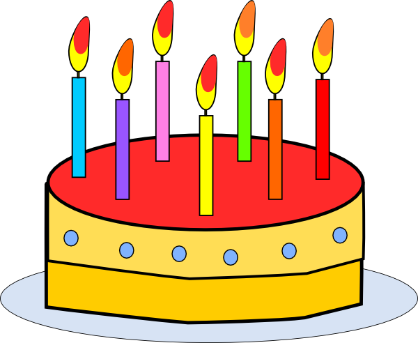 Birthday Cake Clip Art 112908 Free Svg Download 4vector