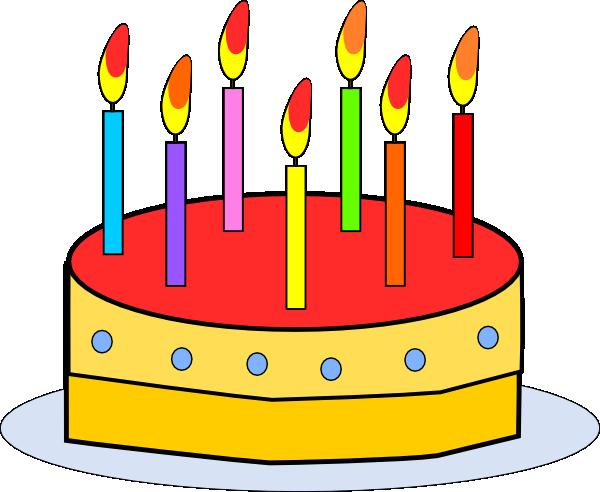 Birthday Cake clip art Free Vector / 4Vector